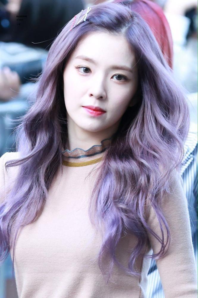 Mỹ Tâm - Hari Won - Quỳnh Anh Shyn đu trend tóc tím nhưng chặt chém nổi dàn idol Hàn-4