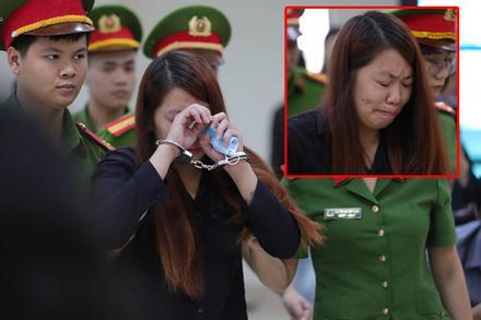 Xét xử vụ bắt cóc bé trai 2 tuổi ở Bắc Ninh: 'Mẹ mìn' khóc nức nở khi bị tuyên án 5 năm tù