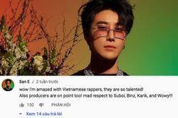 Rapper Hàn Quốc khen thí sinh Rap Việt, dành sự tôn trọng cho dàn HLV