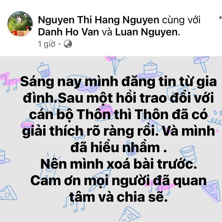 Quảng Bình trả lại số tiền đã thu của gia đình nhận cứu trợ từ Thủy Tiên-3