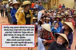 Quảng Bình trả lại số tiền đã thu của gia đình nhận cứu trợ từ Thủy Tiên