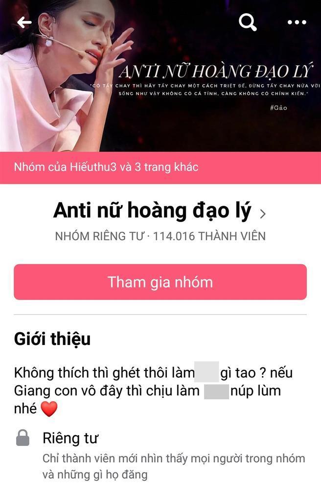 Hương Giang lập kỷ lục với group 110.000 anti-fan, sự nghiệp có nguy cơ lung lay-1