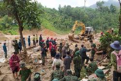 Quảng Nam: Thêm 1 vụ sạt lở đất mới, tìm thấy 3 thi thể bị vùi lấp ở Trà Leng