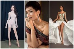 Hoa hậu Việt diện váy mỏng tang ở đấu trường quốc tế, Hương Giang có tận 2 cực phẩm