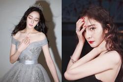 Địch Lệ Nhiệt Ba đổi style công chúa, so kè nhan sắc Dương Mịch trong cùng sự kiện