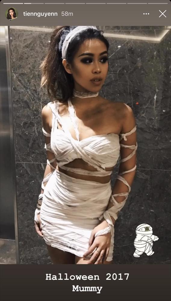 Em chồng Hà Tăng làm người xem nổi da gà với những màn hóa trang dịp Halloween-3