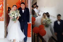 Thuê 'nhầm' tình cũ chụp ảnh cưới, cặp dâu rể hết hồn xem lại dung nhan
