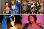 Nhóm bạn Chi Pu, Kỳ Duyên chiếm spotlight Halloween: Hoàng Ku 'chơi lớn' mặc váy hóa công chúa