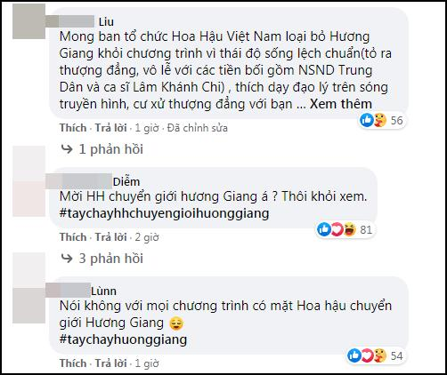 ĐỈNH ĐIỂM: Cộng đồng anti tẩy chay Hương Giang khỏi cuộc thi Hoa hậu Việt Nam-5