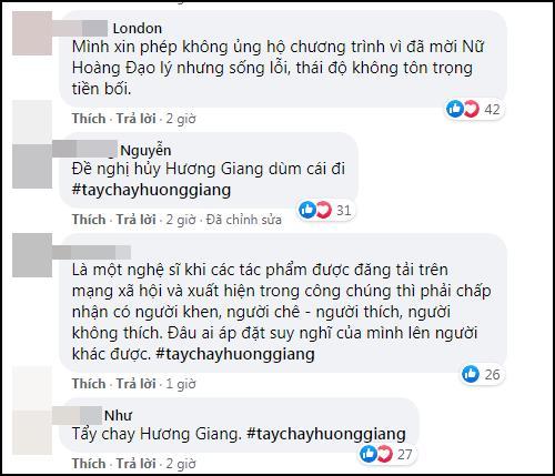 ĐỈNH ĐIỂM: Cộng đồng anti tẩy chay Hương Giang khỏi cuộc thi Hoa hậu Việt Nam-7