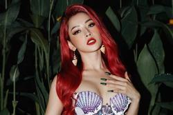 Chi Pu hoá thân thành nàng tiên cá chơi Halloween, netizen lập tức 'cà khịa'