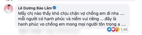 Lê Dương Bảo Lâm bị bắt bẻ khi khoe cuộc sống gia đình-3