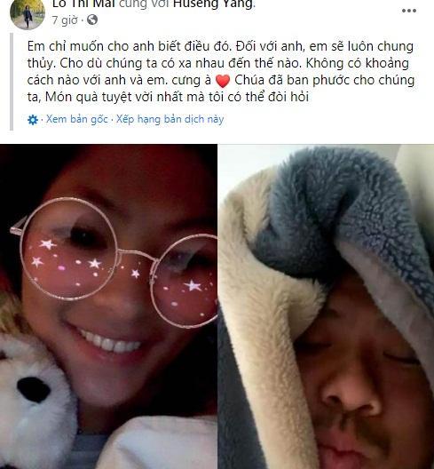 Cô bé HMông và bạn trai doanh nhân liên tục thể hiện tình cảm trên MXH-5