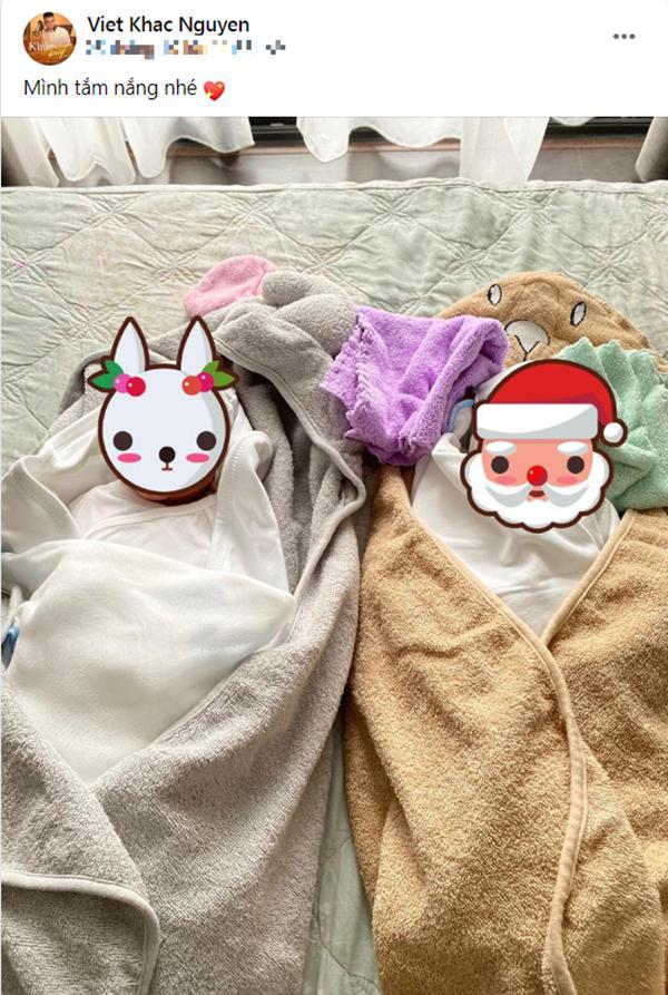 Vợ Khắc Việt giảm cân thần tốc, body nuột nà đến khó tin sau 1 tuần sinh con-1
