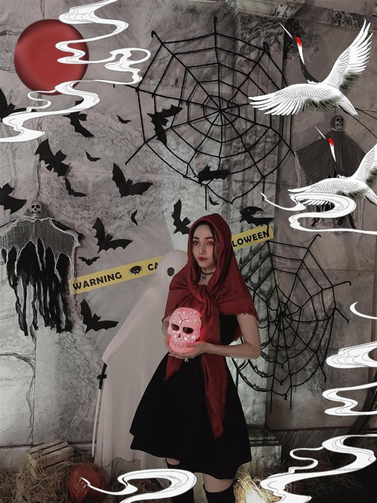 Á hậu Trà My - Thanh Tú và 2 ông chồng đại gia chơi Halloween quá lớn-2