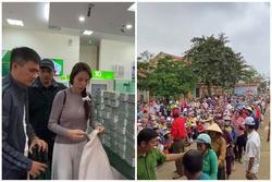 Lãnh đạo huyện nói về vụ người dân đeo vàng nhận cứu trợ từ Thủy Tiên