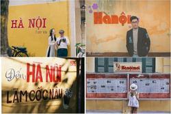 Đi tìm các bức tường check-in 'nhìn là thấy Hà Nội' khiến giới trẻ phải lòng