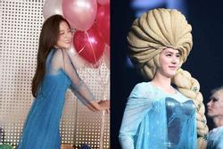BLACKPINK Jisoo hóa Elsa xinh như mộng vẫn lép vế trước dàn Elsa 'lực điền'