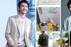 'Tiễn' hoa fan tặng vào thùng rác lộ liễu nam idol Trung nhận làn sóng phẫn nộ