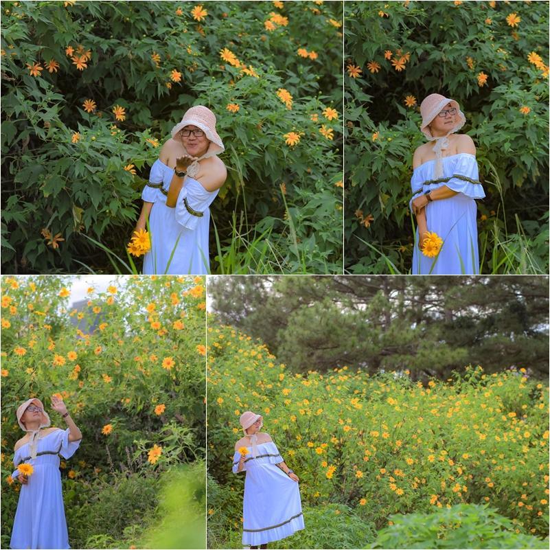 9X giả gái xuất thần hóa công chúa ngủ trong rừng, tạo dáng e ấp giữa vườn dã quỳ Đà Lạt-2