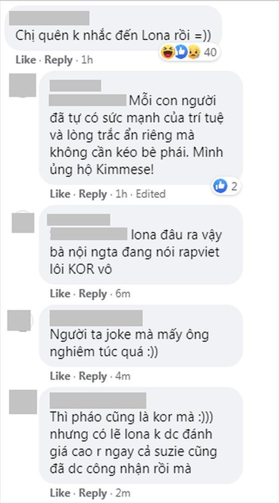 Kimmese đăng đàn ủng hộ Suboi và thế hệ rapper nữ triển vọng, netizen bình luận: Chị quên không nhắc đến Lona rồi!-4