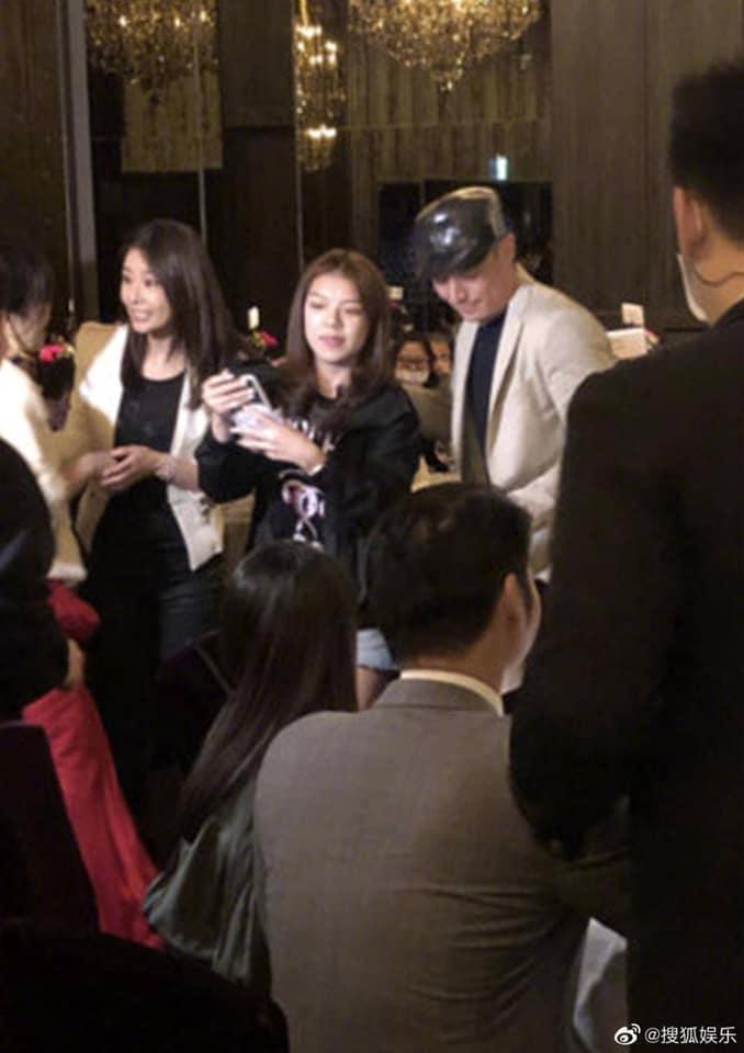 Bị đồn ly hôn, Lâm Tâm Như - Hoắc Kiến Hoa uống rượu giao bôi dằn mặt-4