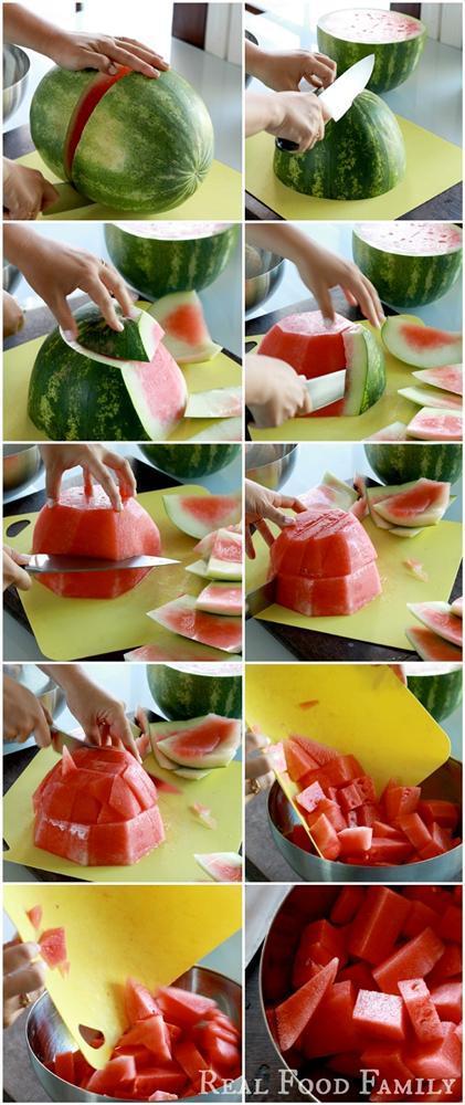 Mẹo bóc vỏ và cắt rau củ, trái cây thần tốc chị em nào cũng nên biết-8