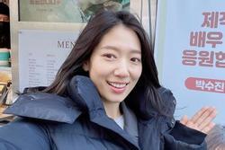 Vẻ đẹp Park Shin Hye gây ngỡ ngàng dù ít điểm tô son phấn