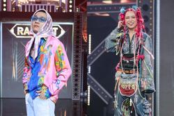 Trang phục chung kết Rap Việt: Wowy như bà ngoại, Tlinh giống 'Cái Bang'
