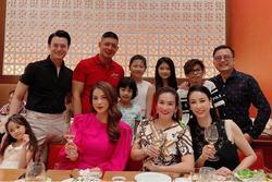 Đại gia Huỳnh Trung Nam xuất hiện hiếm hoi bên hoa hậu Hà Kiều Anh