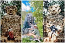 Những bức tượng yêu tinh ở Đà Lạt khiến giới trẻ 'lũ lượt' kéo đến check-in