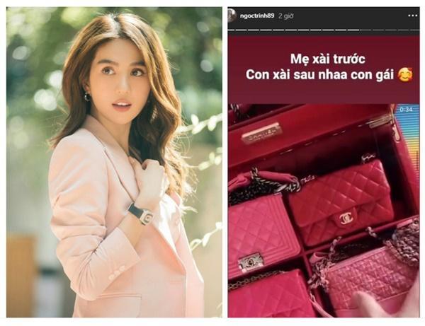 Đông Nhi chi 700 triệu sắm bộ túi Chanel tí hon, quyết không thua Ngọc Trinh, Cường Đô La-5
