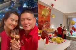 Vợ đại gia chơi lớn mừng sinh nhật Bình Minh