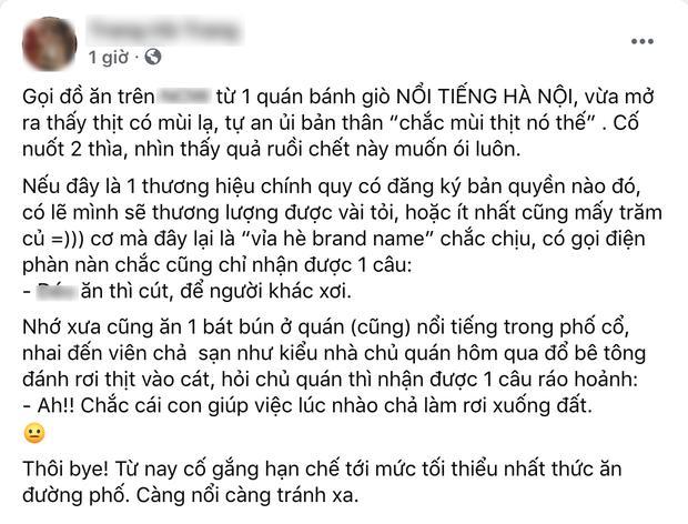 Quán bánh giò nổi tiếng Hà Nội khiếp vía vì vừa bốc mùi, vừa có ruồi trong nhân-1