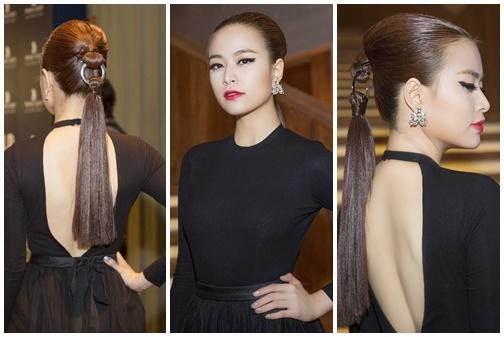 Những kiểu tóc chẳng biết bắt đầu và kết thúc ở đâu của sao Việt-4