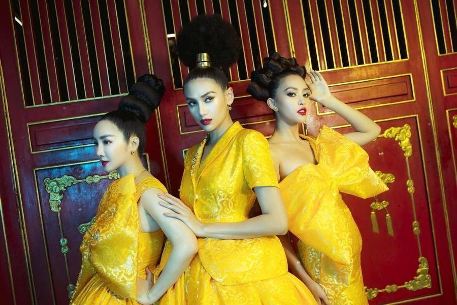 Những kiểu tóc chẳng biết bắt đầu và kết thúc ở đâu của sao Việt-7