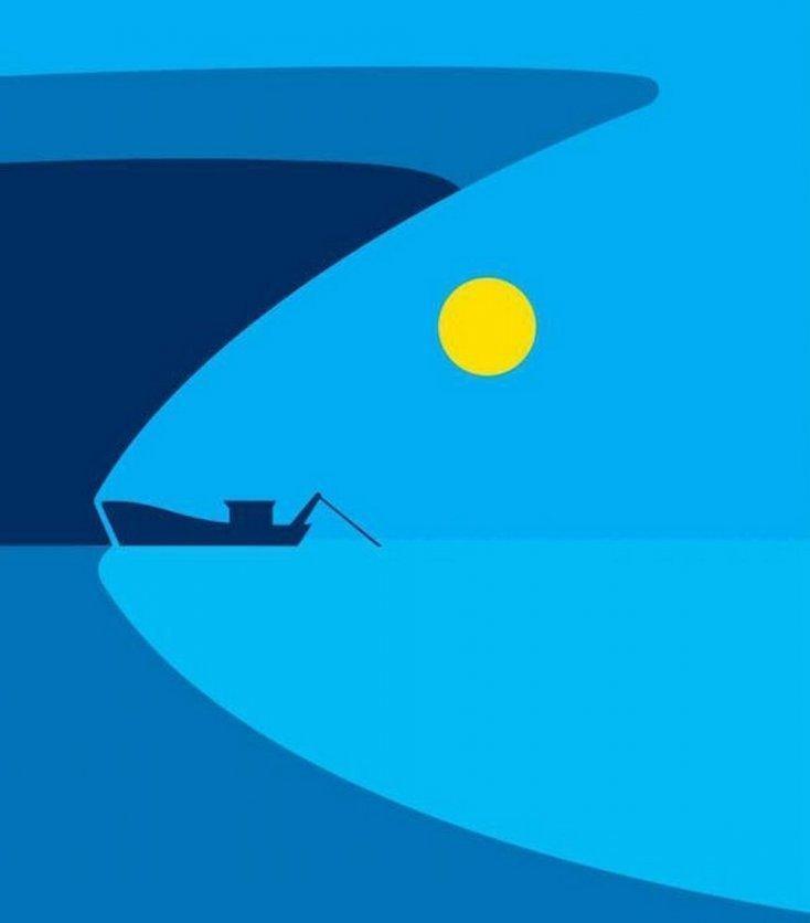 Bạn nhìn thấy con cá hay chiếc thuyền? Câu trả lời sẽ bóc trần tính cách thật của bạn-1