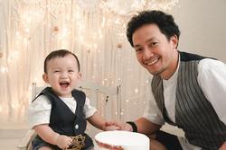 Con trai một tuổi của rapper Tiến Đạt
