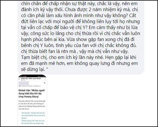 Lỡ miệng bênh Hương Giang, hoa hậu Khánh Vân bị cảnh cáo hội đồng-4