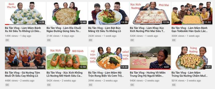 Lượt xem kênh Bà Tân Vlog bỗng dưng bị tụt thê thảm-3