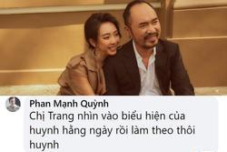Thu Trang diễn xuất thần trong 'Tiệc trăng máu', Phan Mạnh Quỳnh tiết lộ lý do cực hài