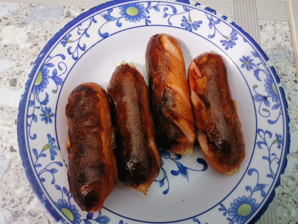 Duy Khánh tự nhận là thành viên ưu tú của hội Ghét bếp, rán phồng tôm cháy đen như bánh xe-2