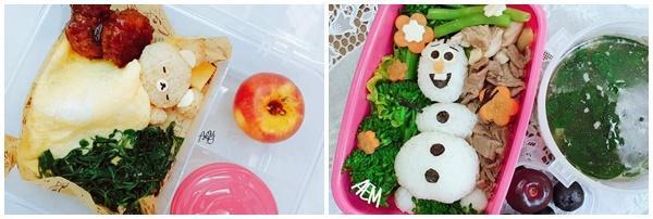 Mẹ đảm 8x với những hộp cơm bento siêu dễ thương dành cho con gái đi học mỗi ngày-4