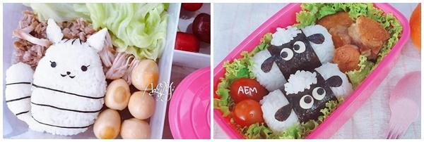 Mẹ đảm 8x với những hộp cơm bento siêu dễ thương dành cho con gái đi học mỗi ngày-8