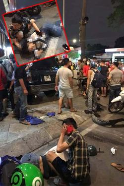 Tai nạn liên hoàn ở Sài Gòn: Ô tô đâm hàng loạt xe máy, người bị thương nằm la liệt