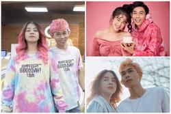 Hồng Thanh không ngại nhuộm tóc để đồng điệu thời trang với DJ Mie