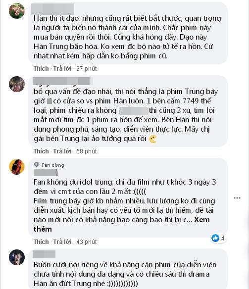 Netizen Trung chê phim Hàn thua kém nước mình, netizen Việt phản bác: Bớt gáy lại đi-4