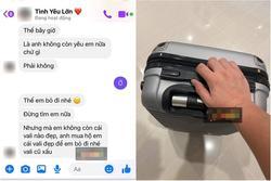 Cãi nhau to, vợ xin mua vali xịn để 'rời đi trong cái đẹp' khiến chồng cạn lời