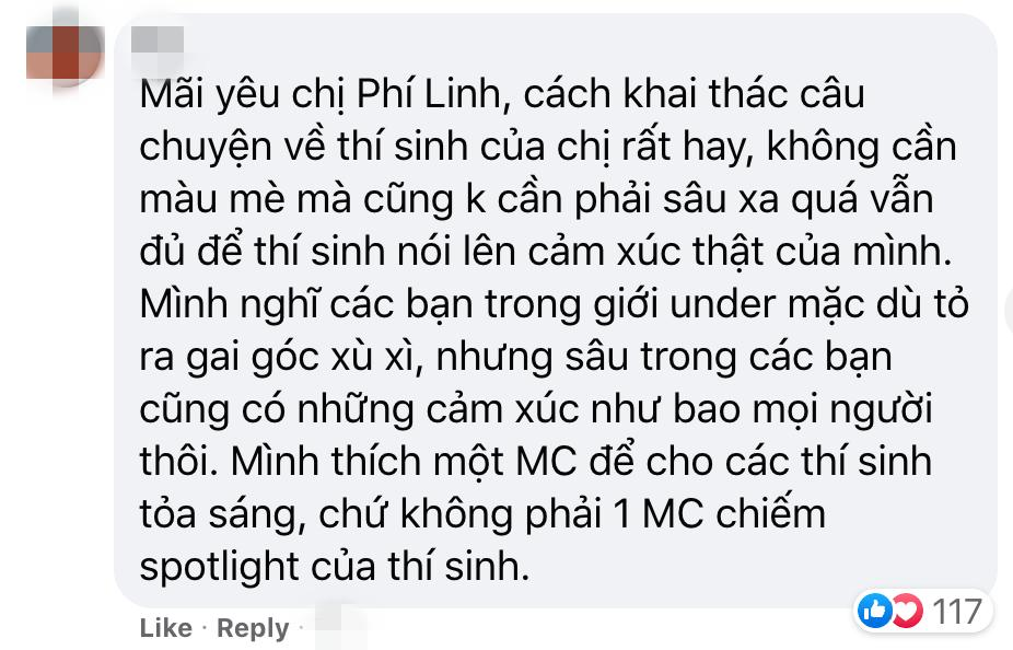 MC Phí Linh King Of Rap nói gì về nhận xét không có cửa so với Trấn Thành Rap Việt-7