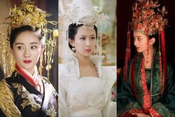 Những tân nương Hoa ngữ không chọn sắc phục đỏ trong ngày cưới